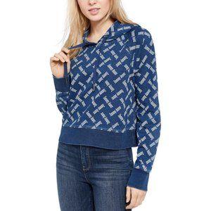 Tommy Jeans Logo Print Hoodie L